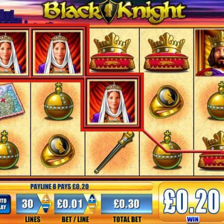 WMS' Black Knight Online Video Slot Overview