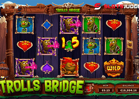 Check out the Features of Trolls Online Slots Game by Net Entertainment