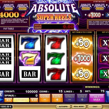 Discovering Absolute Super Reels Slots By iSoftware Games